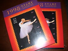 1998 USPS COMMEMORATIVE YEARBOOK MINT SET MNH STAMPS.  Free Shipping.