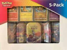 Pokemon: Kanto Power Mini Lata de Estaño 5-Pack [Trading Card Game booster packs Pikachu Mew] 10 Nuevo