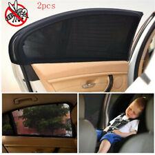 2x Car Rear Side Window Mesh Sun Visor Shade Cover Shield UV Protector Universal