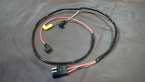70 Ford Mustang Mercury Cougar   Engine Gauge Feed wiring harness 351 Cleveland