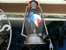 STATE OF TEXAS METAL ART LAMP WESTERN HOME WALL DECOR NEW