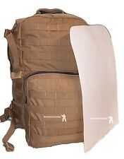 FILBE Assault Pack Replacement Plastic Back Stiffener Panel USMC stiffener White