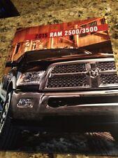 2015 Dodge Ram 2500/3500 42-page Original Sales Brochure