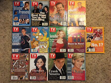 Lot of 13 TV Guides from 1998 (Quad City Channels)