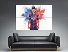 Super Neymar Junior FC Barcelona Wall Art Poster Grand format A0 Large Print