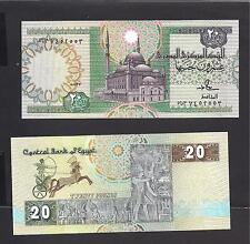 Egypt p-52b , UNC, 20 Pounds, 1987