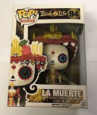 Funko Pop Movies Book of Life La Muerte 94 Vaulted Vinyl Figure Rare