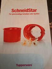 Tupperware Rezept- und Infoblatt SCHNEIDSTAR