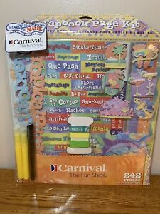 NEW Carnival Cruise 242 Piece Scrapbook Kit Only Available on Board 3 Bird