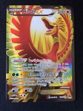 HO-OH EX 121/122 BREAKPOINT Pokemon Card Full Art Holo Shiny Rare