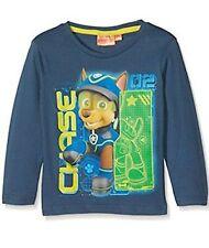 Chicos Paw Patrol Chase de manga larga T Shirt Top 5 años de edad