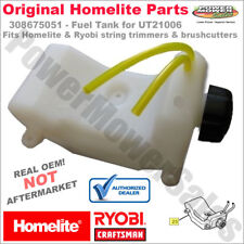Homelite Trimmer Fuel Tank w/Cap Replacement Assembly 308675051, 308675001