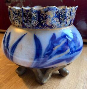 RARE ROYAL DOULTON BURSLEM IRIS bowl