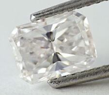 1.00 CT Loose Natural Diamond D VS2 Radiant Cut Rectangular Certified TOP COLOR