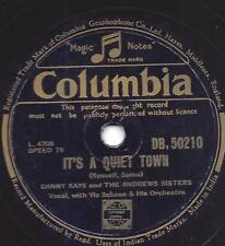 ANDREWS SISTERS + Danny KAYE  :  Big brass band fro brazil  +  it`s a quiet town