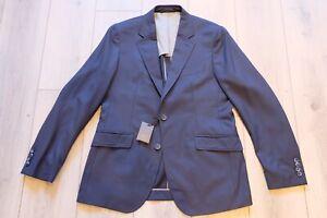 Hackett Navy Wool Sport Coat 40 Made in Italy BNWT