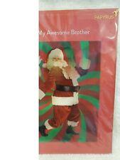 NIP Papyrus Christmas Holiday Card Brother 3-D ($7.95 Retail)