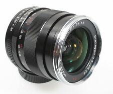 Carl Zeiss Weitwinkelobjektive für Zeiss Kameras