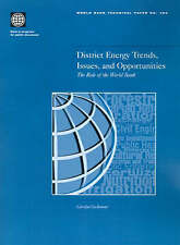 District Energy Trends, Issues, and Opportunities: The Role of the World Bank (W