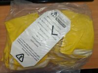 Cordova Safety 4259R Yellow Flock-Lined Latex Gloves Size 9 Large (12 pair)