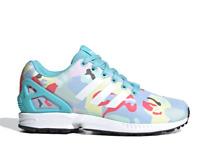 Scarpe Sportive Donna Adidas ZX Flux Sneaker Limite Edition Colorate Torsion