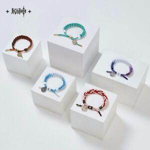 Official Genshin Impact Mihoyo Rope Bracelet Preorder