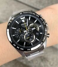 SSB303P1 Chronograph Black Dial Silver Steel Watch for Men COD PayPal