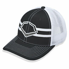 Evoshield Grandstand Flexfit Trucker Hat - Black/White - Small/Medium
