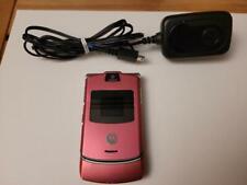 Motorola Razr V3 - Pink (At&T) Flip Phone
