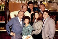 Cheers TV Show Cast Color  8x10 Glossy Photo