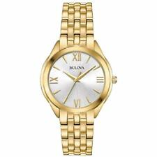 Bulova 97L160 Water-Resistant Women's Gold Classic Watch