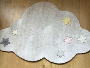 Mamas & Papas Dream Upon A Cloud Wool Nursery Rug 🌟 Brand New 🌟