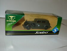 voiture militaire Solido Packard HQ ref 6006