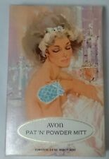 Vintage Occur! Pat-N-Powder Mitt From Avon, Sealed In Original Box
