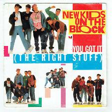 "NEW KIDS ON THE BLOCK Vinyl 45 tours 7"" YOU GOT IT The Right Stuff CBS 653169 7"
