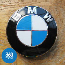 1 NEW GENUINE ORIGINAL BMW ALLOY WHEEL CENTRE CAPS BADGES CHROME E46 36136783536