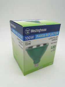 Westinghouse PAR38 Reflector 15W LED Outdoor Green Flood Light Bulb 33149 100Weq