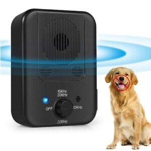 Dog Anti Bark Voice Sensor Ultrasonic Deterrent Stop Barking Training Control