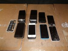 LOT OF 30 SPRINT, AT&T, VERIZON, APPLE IPHONE 5, 5S, 5C **UNTESTED/ PARTS ONLY/