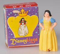 Marx Disney Disneyking Snow White in Original Box Vintage 1960s Figurine