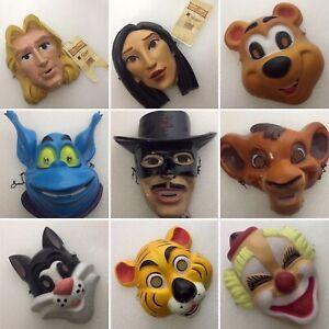 RARE…Masque CESAR, ... Lot de 9 différends