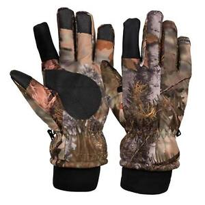 King's Camo Insulated Waterproof Hunting Gloves Mountain Shadow M L XL