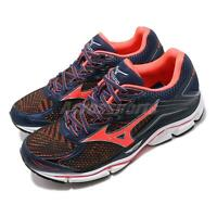 Mizuno Wave Enigma 6 Navy Orange Mens Running Shoes Runner J1GC1611-55