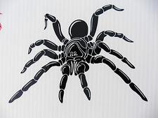 LARGE Spider animals nature stickers/car/van/bumper/window/decal 5271 Black