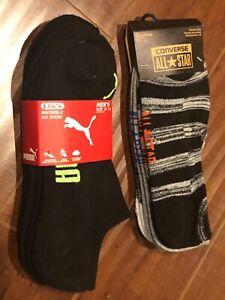 Men's Low Cut Socks Total 6 pairs CONVERSE PUMA