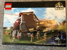 Lego Star Wars 7184 Trade Federation MTT - 100% complete/box/book/figs