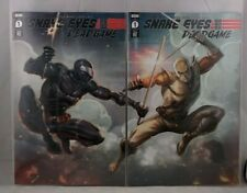 SNAKE EYES DEADGAME #1 TORPEDO COMICS CONNECTING COVERS LIEFELD VARIANT SET