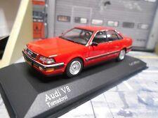AUDI V8 Quattro Limousine 1988 red rot D11 / 4C Minichamps RAR 1:43
