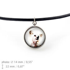 Chinese Crested Dog , pendant for people who love dogs.Photojewelry.Handmade.UK
