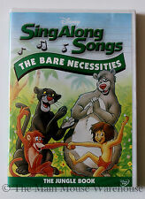 Disney Karaoke Sing Along Songs DVD Jungle Book Aristocats Mickey Mouse Club Etc